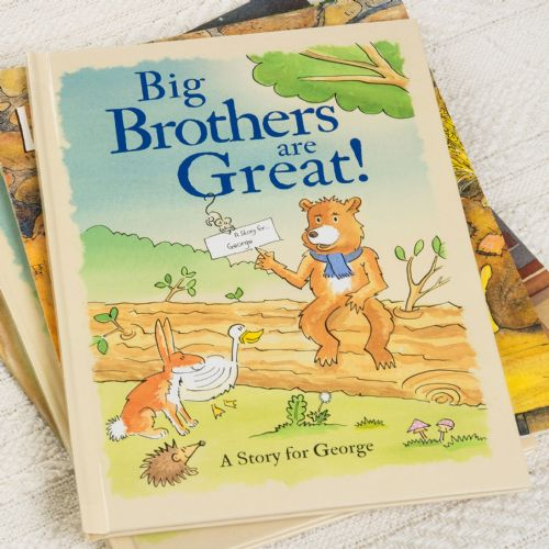 Big Brothers Are Great Hardback Book